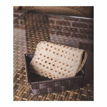 تصویر از سبد نان پارچه ای مربع وایت پلیت کد 12274 یک عددی