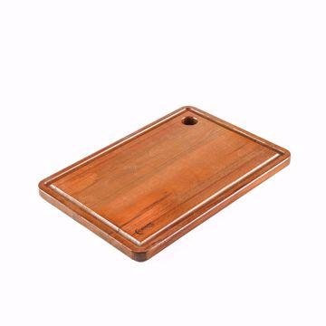 تصویر از تخته مستطیل چوبی شیاردار وایت پلیت کد 12271 یک عددی