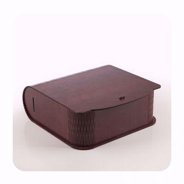 تصویر از باکس چای چوبی وایت پلیت کد 56581 یک عددی
