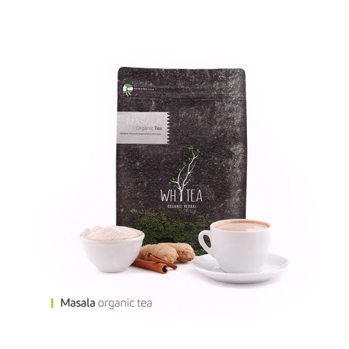 تصویر از پک چای ماسالا 1000 گرمی وایت پلیت کد 55507 یک عددی
